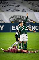 Belo Horizonte (MG) 14/08/21 - Atlético-MG-Palmeiras - Gol de Savarino durante partida entre Atlético-MG e Palmeiras , válida pela décima  sexta rodada do Campeonato Brasileiro no Estadio Mineirão em Belo Horizonte neste sábado (14)