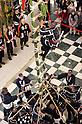 Edo Firemanship Preservation Association showcases acrobatic performance