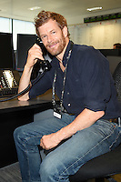 Tom Aitken<br /> on the trading floor for the BGC Charity Day 2016, Canary Wharf, London.<br /> <br /> <br /> ©Ash Knotek  D3152  12/09/2016
