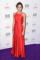 Emily Andre<br /> arriving for Caudwell Butterfly Ball 2019 at the Grosvenor House Hotel, London<br /> <br /> ©Ash Knotek  D3508  13/06/2019
