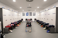 WIENER NEUSTADT, AUSTRIA - NOVEMBER 16: USMNT locker room before a game between Panama and USMNT at Stadion Wiener Neustadt on November 16, 2020 in Wiener Neustadt, Austria.