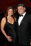 Ashley Wehrly and Stephen Wood at the Houston Grand Opera Ball at the Wortham Theater Saturday  April 05,2008. (Dave Rossman/For the Chronicle)