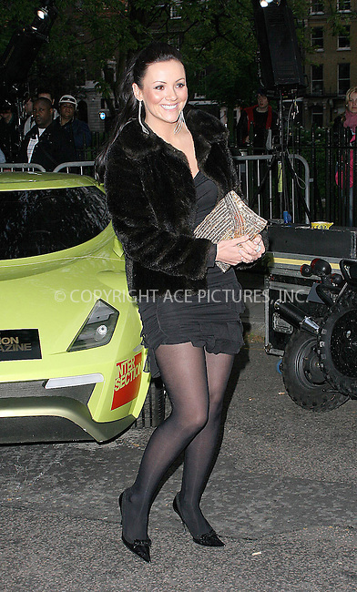 WWW.ACEPIXS.COM . . . . .  ... . . . . US SALES ONLY . . . . .....LONDON, MAY 13, 2005....Martine McCutcheon at the 'Gumball 3000: 6 Days In May' DVD premiere and 2005 rally launch. ....Please byline: FAMOUS-ACE PICTURES-F. DUVAL... . . . .  ....Ace Pictures, Inc:  ..Craig Ashby (212) 243-8787..e-mail: picturedesk@acepixs.com..web: http://www.acepixs.com