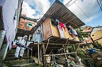 02/07/2020 - HIGIENIZAÇÃO DE FAVELAS NO RIO DE JANEIRO