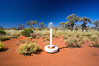 Memorial to Anne Beadell on the Anne Beadell Highway in remote Western Australia