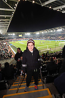 SWANSEA, WALES - MARCH 16: <br /> Re: Premier League match between Swansea City and Liverpool at the Liberty Stadium on March 16, 2015 in Swansea, Wales
