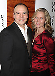 "Danny Burstein & Rebecca Luker.at the After Party for the Opening Night Performance of  ""Women On The Verge Of A Nervous Breakdown"" at The Millennium Broadway in New York City...."