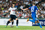 Tottenham Hotspur Forward Heung-Min Son (L) in action during the Friendly match between Kitchee SC and Tottenham Hotspur FC at Hong Kong Stadium on May 26, 2017 in So Kon Po, Hong Kong. Photo by Man yuen Li  / Power Sport Images