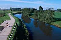 Belgien, Flandern, Flussaue in Westbrabant