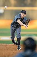 Cincinnati Bearcats starting pitcher Matt Ring (21) in action against the Wake Forest Demon Deacons at Wake Forest Baseball Park on February 21, 2014 in Winston-Salem, North Carolina.  The Bearcats defeated the Demon Deacons 5-0.  (Brian Westerholt/Four Seam Images)