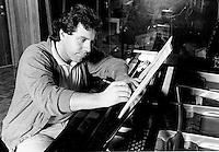 FILE PHOTO : Jean-Marc Benoit in 1986