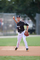 Matt Willadsen during the WWBA World Championship at the Roger Dean Complex on October 20, 2018 in Jupiter, Florida.  Matt Willadsen is a shortstop from Holly Springs, North Carolina who attends Holly Springs High School and is committed to North Carolina State.  (Mike Janes/Four Seam Images)