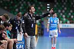 Trainer Jaron Siewert (Berlin) beim Spiel in der Handball Bundesliga, Frisch Auf Goeppingen - Fuechse Berlin.<br /> <br /> Foto © PIX-Sportfotos *** Foto ist honorarpflichtig! *** Auf Anfrage in hoeherer Qualitaet/Aufloesung. Belegexemplar erbeten. Veroeffentlichung ausschliesslich fuer journalistisch-publizistische Zwecke. For editorial use only.