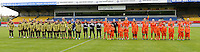 Bekerfinale vrouwen 2015 : Lierse-Club Brugge Vrouwen <br /> <br /> beide ploegen voor de aftrap<br /> <br /> foto VDB / BART VANDENBROUCKE