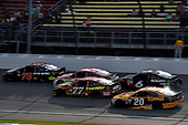 Monster Energy NASCAR Cup Series<br /> Pure Michigan 400<br /> Michigan International Speedway, Brooklyn, MI USA<br /> Sunday 13 August 2017<br /> Martin Truex Jr, Furniture Row Racing, Furniture Row/Denver Mattress Toyota Camry leads<br /> World Copyright: Rusty Jarrett<br /> LAT Images