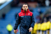 Player-Assistant Manager Leon Britton of Swansea City prior to the Premier League match between Burnley and Swansea City at Turf Moor, Burnley, England, UK. Saturday 18 November 2017
