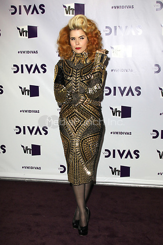 LOS ANGELES, CA - DECEMBER 16: Paloma Faith at VH1 Divas 2012 at The Shrine Auditorium on December 16, 2012 in Los Angeles, California. Credit: mpi21/MediaPunch Inc.