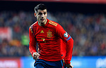 Spain's Alvaro Morata during the Qualifiers - Group F to Euro 2020 football match between Spain and Norway on 23th March, 2019 in Valencia, Spain. (ALTERPHOTOS/Manu R.B.)