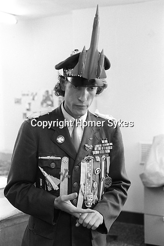 General Waste Moreland. Gen Waste-More-Land aka Tom Dunphy. He mocked the Vietnam War and the real life General Wastemoreland..London 1970.