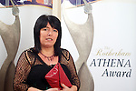 Pix: Shaun Flannery/shaunflanneryphotography.com...COPYRIGHT PICTURE>>SHAUN FLANNERY>01302-570814>>07778315553>>..24th March 2012Rotherham Metropolitan Borough Council (RMBC)..The Rotherham Athena Award 2012..Honouree Jayne Fitzgerald.