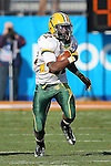 North Dakota State Bison running back Sam Ojuri (22) in action during the FCS Championship game between the North Dakota State Bison and the Sam Houston State Bearkats at the FC Dallas Stadium in Frisco, Texas. North Dakota defeats Sam Houston 39 to 13..