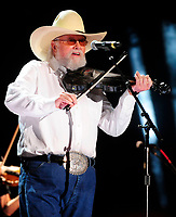 06 July 2020 - Country music and southern rock legend Charlie Daniels has passed away after suffering a stroke. The Grand Ole Opry member and Country Music Hall of Famer was 83. File Photo: 09 June 2013 - Nashville, Tennessee - Charlie Daniels. 2013 CMA Music Festival Nightly Concert held at LP Field. Photo Credit: Mike Strasinger/AdMedia