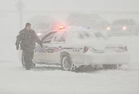tempete de neige sur la rive sud, 2012<br /> <br /> <br /> <br /> PHOTO :  Agence Quebec Presse