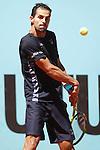 Santiago Giraldo, Colombia, during Madrid Open Tennis 2016 match.May, 3, 2016.(ALTERPHOTOS/Acero)