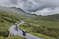 chasing group up the Cormet de Roselend<br /> <br /> Stage 9 from Cluses to Tignes (144.9km)<br /> 108th Tour de France 2021 (2.UWT)<br /> <br /> ©kramon