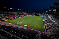 WASHINGTON, DC - SEPTEMBER 12: Audi Field during a game between New York Red Bulls and D.C. United on September 12, 2020 in Washington, DC.