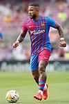 FC Barcelona's Memphis Depay during La Liga match. August 29, 2021. (ALTERPHOTOS/Acero)