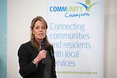 Councillor Catherine Faulks, Kensington & Chelsea Lead member for Adult Social Care and Public Health. Tri-Borough Community Champions Conference, 20/11/13.