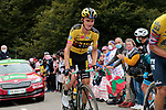 Sepp Kuss (USA) Team Jumbo-Visma climbs Col de Marie Blanque during Stage 9 of Tour de France 2020, running 153km from Pau to Laruns, France. 6th September 2020. <br /> Picture: Colin Flockton   Cyclefile<br /> All photos usage must carry mandatory copyright credit (© Cyclefile   Colin Flockton)