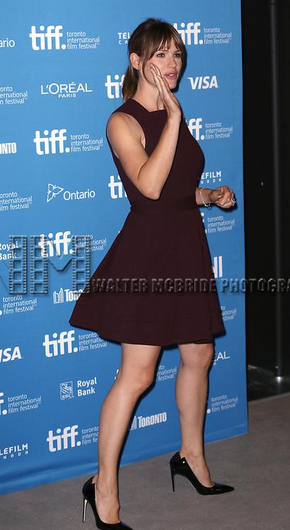 Jennifer Garner during the 'Men, Woman & Children' photocall during the 2014 Toronto International Film Festival at the Tiff Bell Lightbox on September 6, 2014 in Toronto, Canada.