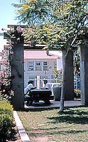 Rob W. Quigley: Sherman Heights Community Center. Gazebo--southwest corner, near street. Photo '96.