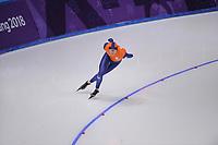 OLYMPIC GAMES: PYEONGCHANG: 11-02-2018, Gangneung Oval, Long Track, 5000m Men, Sven Kramer (NED), ©photo Martin de Jong
