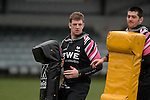 Nikki Walker during the Ospreys rugby training session today at Llandarcy Academy of Sport near Neath ahead of their Heineken Cup game with Viadana this coming weekend.