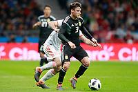 Argentina's Nicolas Tagliafico during international friendly match. March 27,2018.(ALTERPHOTOS/Acero) /NortePhoto.com NORTEPHOTOMEXICO