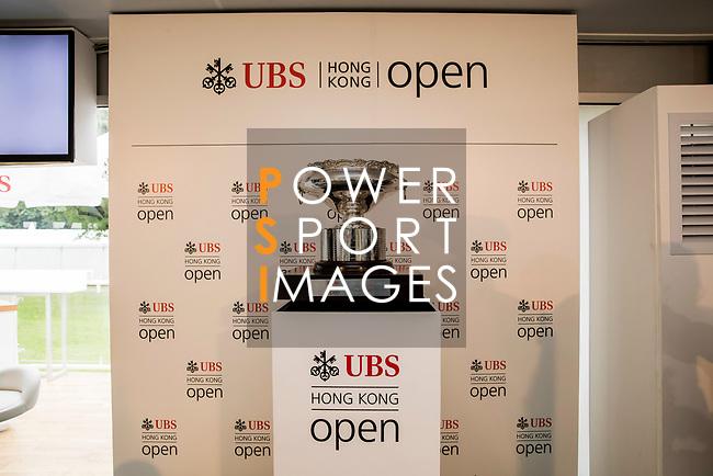 UBS Pavillion during the day three of UBS Hong Kong Open 2017 at the Hong Kong Golf Club on 25 November 2017, in Hong Kong, Hong Kong. Photo by Yu Chun Christopher Wong / Power Sport Images