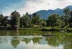 Austria, Tyrol, Innsbruck Holiday Village Land: Lanser Lake | Oesterreich, Tirol, Innsbrucks Feriendorf Lans: Lanser See