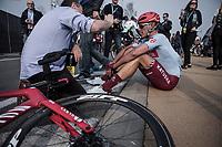 Nils Politt (GER/Katusha Alpecin) post race<br /> <br /> 103rd Ronde van Vlaanderen 2019<br /> One day race from Antwerp to Oudenaarde (BEL/270km)<br /> <br /> ©kramon
