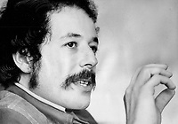 Denys Arcand is not the political firebrand you expect from seeing his movie Rejeanne Padovani. But he is serious about how the people in Quebec just feel that everything is rotten.<br /> <br /> 1972<br /> <br /> PHOTO :  Bob Olsen - Toronto Star Archives - AQP