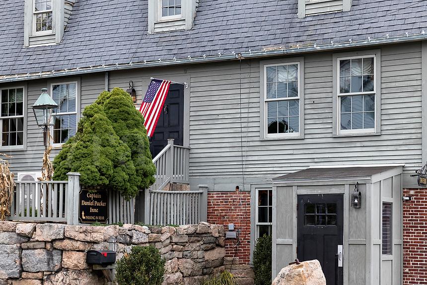 Captain Danial Packer Inne, Mystic, Connecticut, USA. 1756