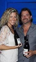 08-12-12  GH Laura Wright & hubby John - Standinsg Sun Wines Tasting - McGooby's Joke House