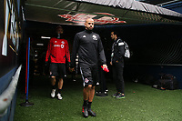 SEATTLE, WA - NOVEMBER 9: Assistant coach Jason Hernandez of Toronto FC takes the field at CenturyLink Field on November 9, 2019 in Seattle, Washington.