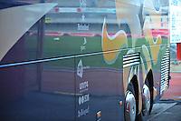 Belgium - The Netherlands : Bus KNVB - Koninklijke Nederlandse Voetbal Bond.foto DAVID CATRY / Vrouwenteam.be