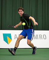 18-01-14,Netherlands, Rotterdam,  TC Victoria, Wildcard Tournament,  Tom Smit (NED)    <br /> Photo: Henk Koster
