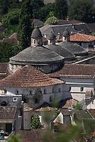 Europe/France/Midi-Pyrénées/46/Lot/Souillac: L'Abbaye Sainte-Marie de Souillac du XIIe siècle