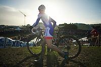 Dutch Champion Lars van der Haar (NLD)<br /> <br /> 2014 Noordzeecross<br /> Elite Men