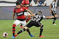 Rio de Janeiro (RJ), 24/03/2021 - Botafogo-Flamengo - Hugo Moura jogador do Flamengo,durante partida contra o Botafogo,válida pela 5ª rodada da Taça Guanabara,realizada no Estádio Nilton Santos (Engenhão), na zona norte do Rio de Janeiro,nesta quarta-feira (24).